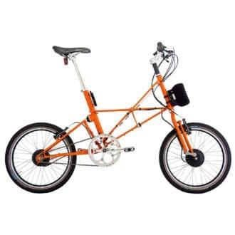 Product image for ARCC Moulton® TSR Electric | 14-Speed | Orange | Electric Bike
