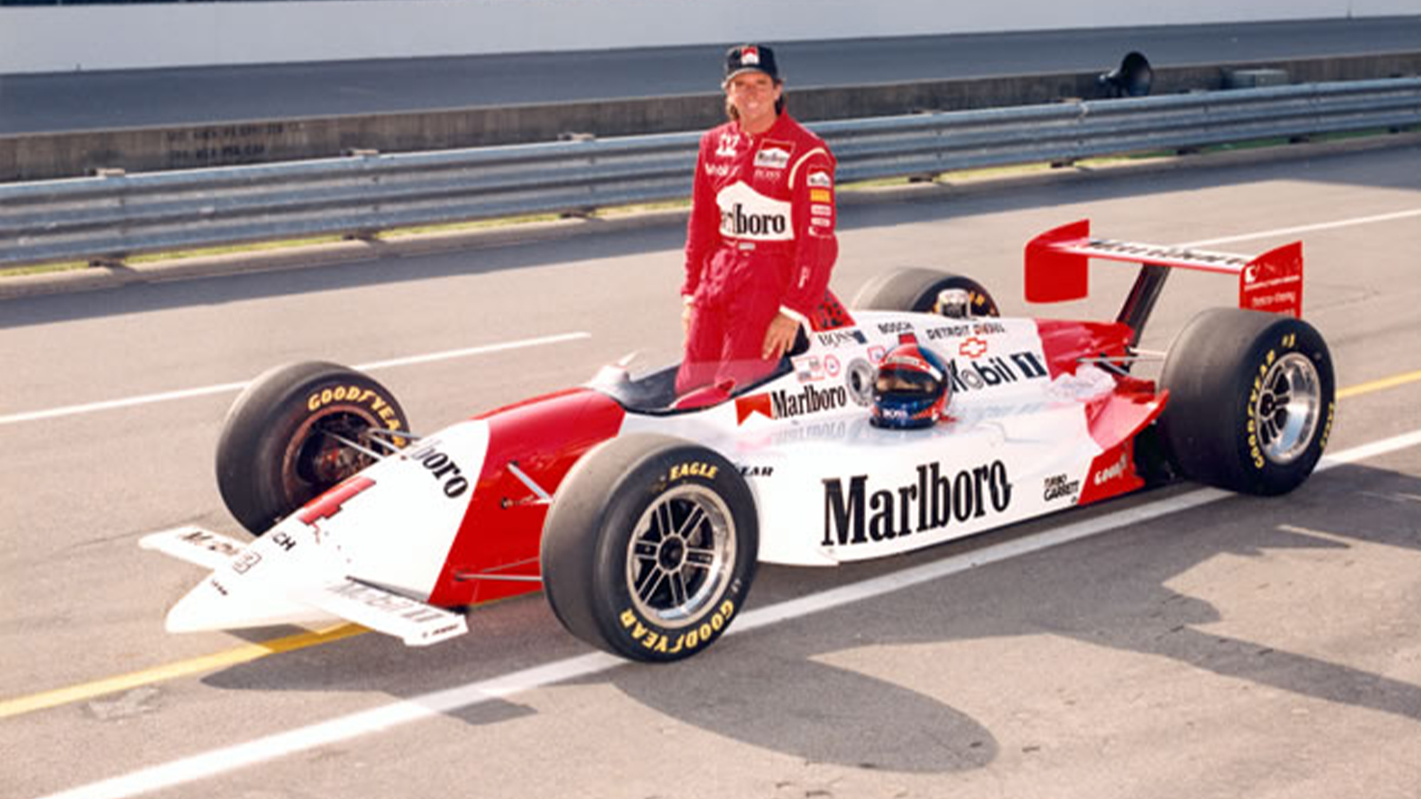 Emerson Fittipaldi at the 1993 Indy 500