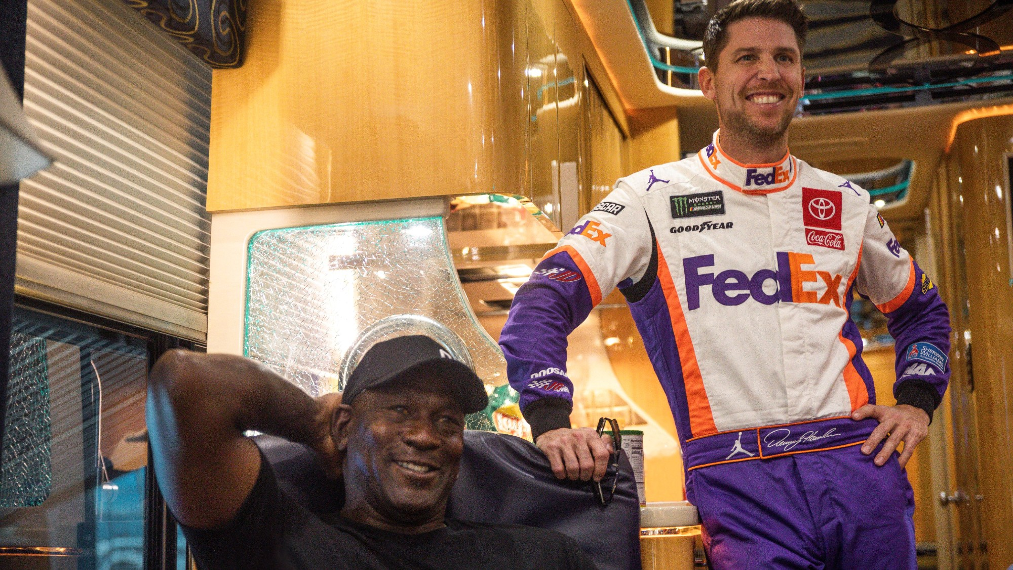 NBA legend Michael Jordan behind new NASCAR Cup team with Bubba Wallace as driver