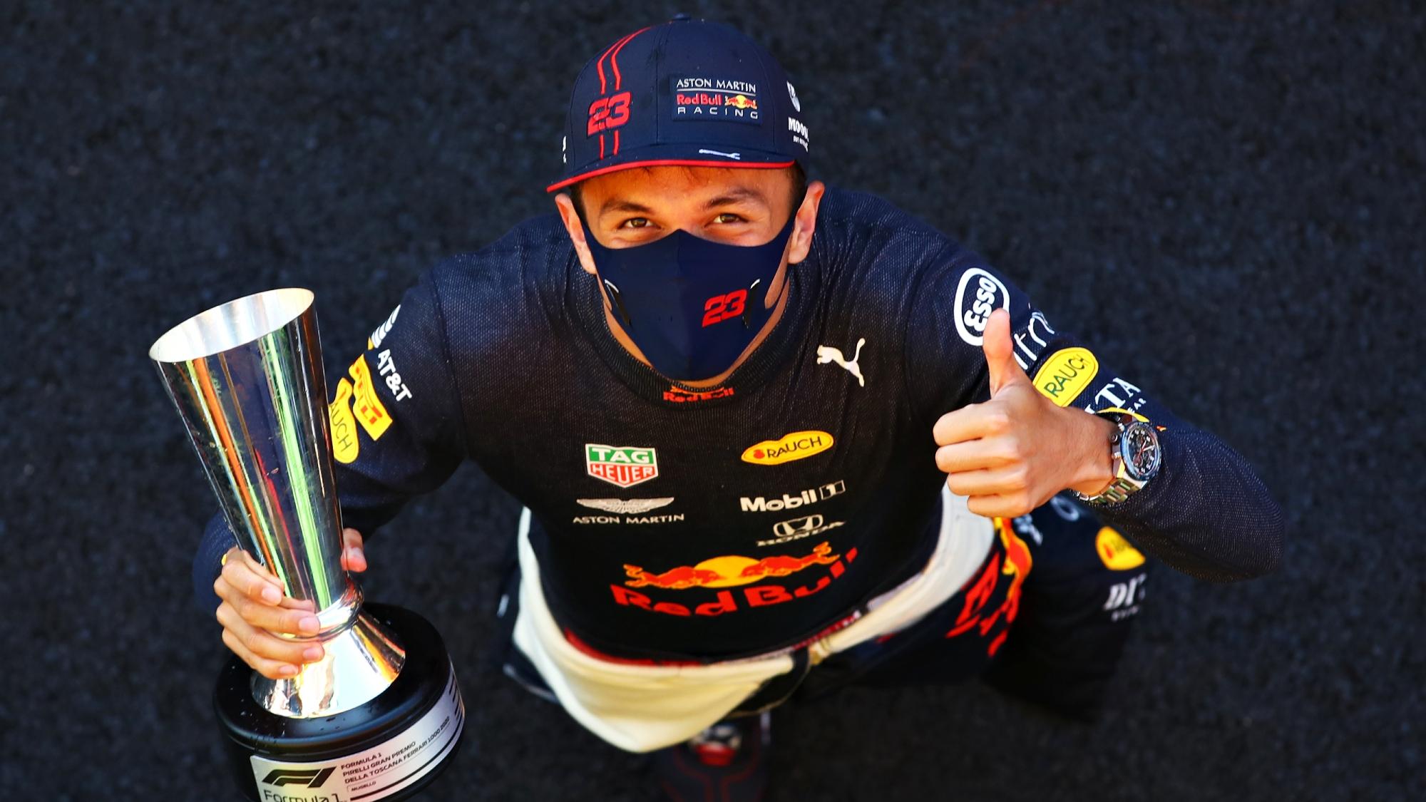 Alex Albon, 2020 Tuscan GP