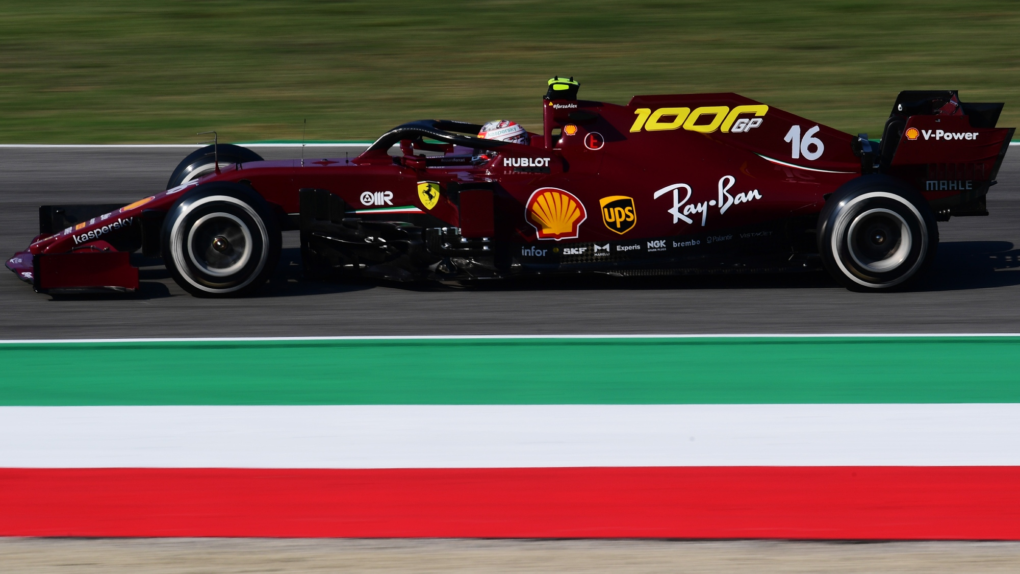Charles Leclerc, 2020 Tuscan GP