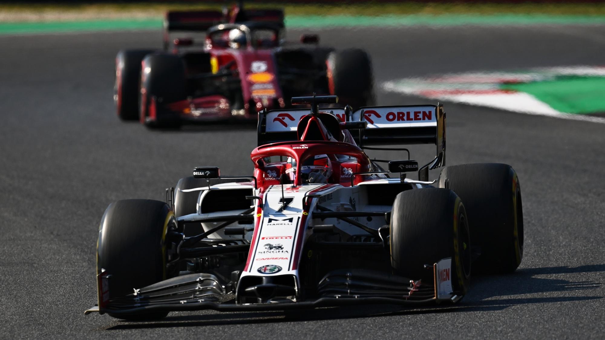 Kimi Raikkonen, 2020 Tuscan GP