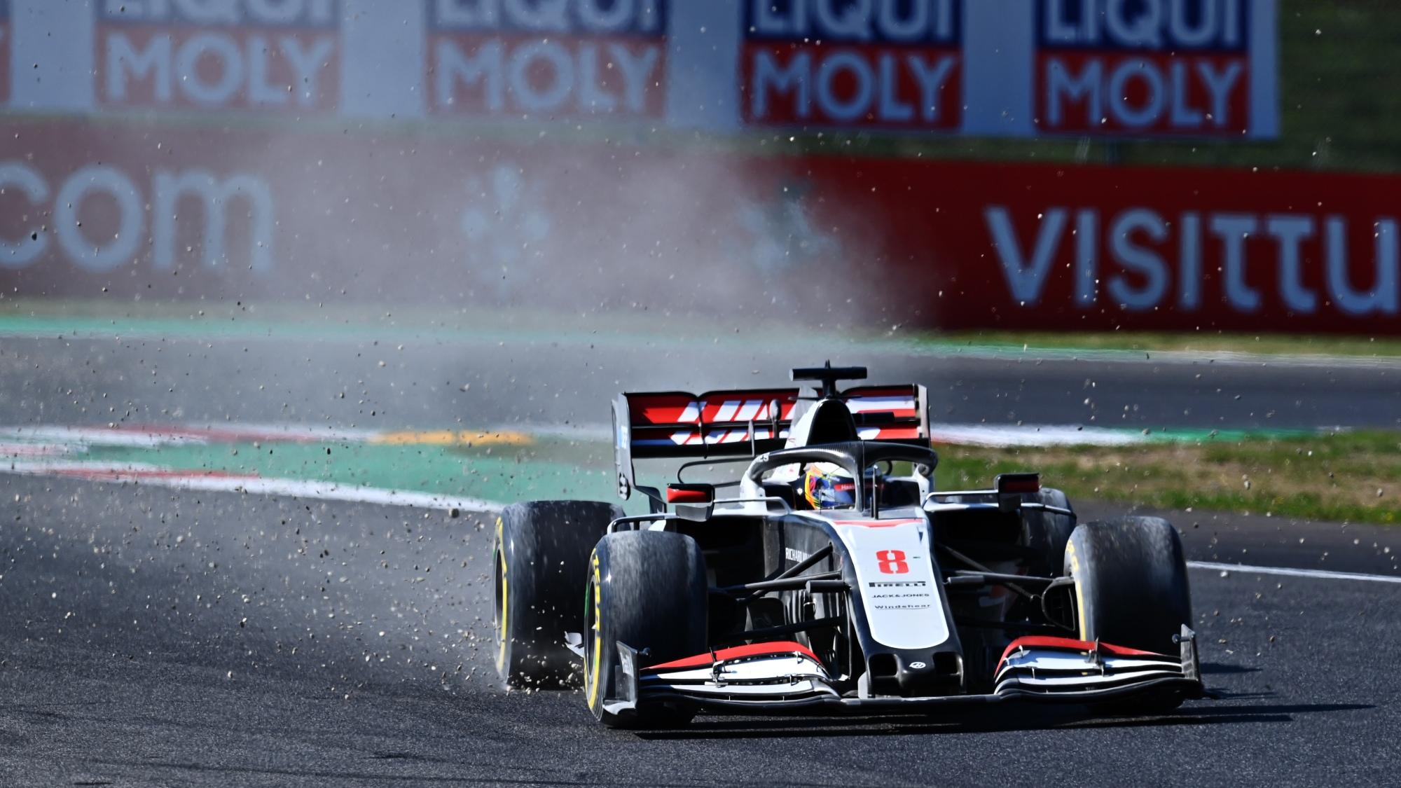 Romain Grosjean, 2020 Tuscan GP