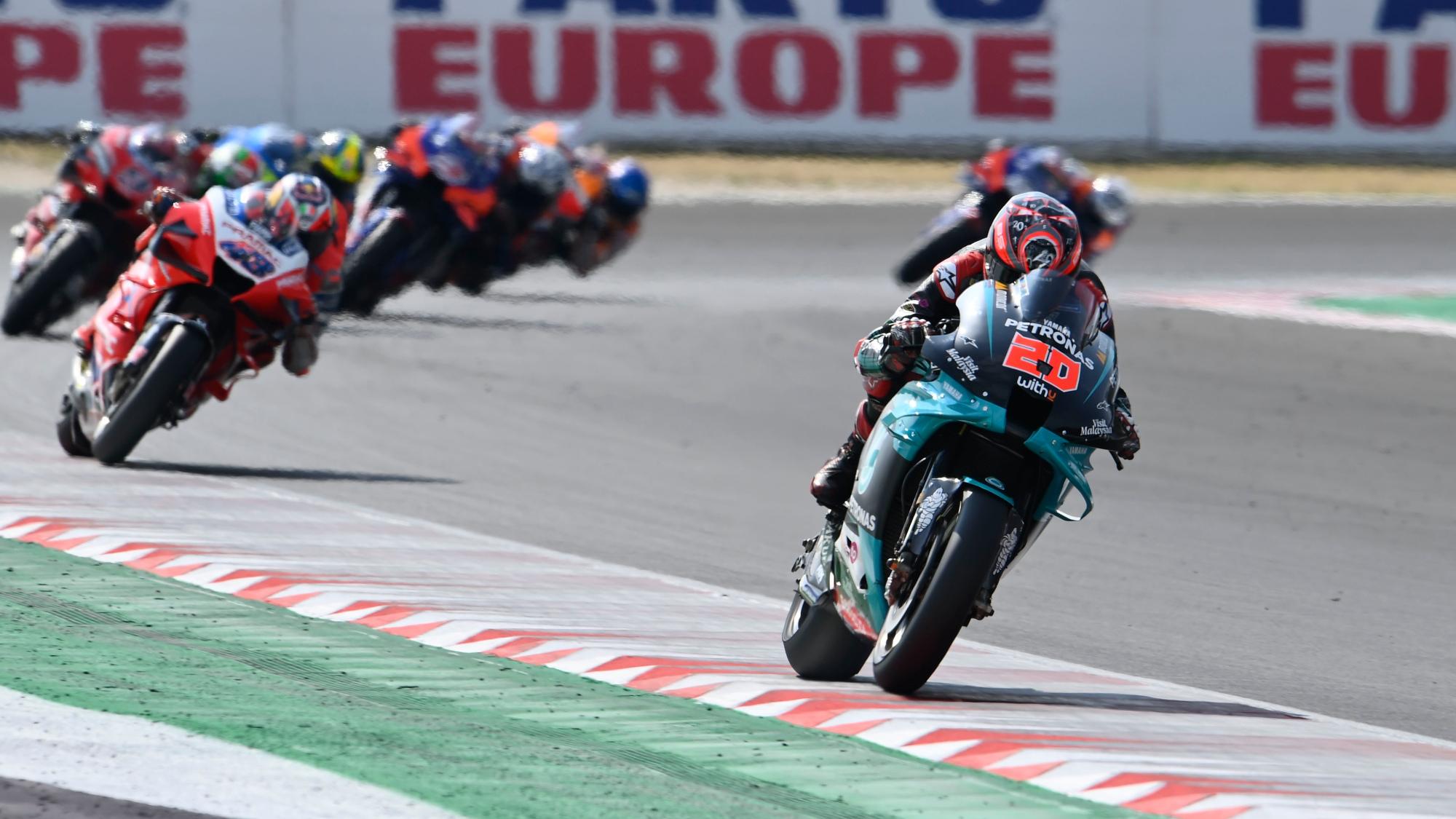 Fabio Quartararo, 2020 Misano II MotoGP