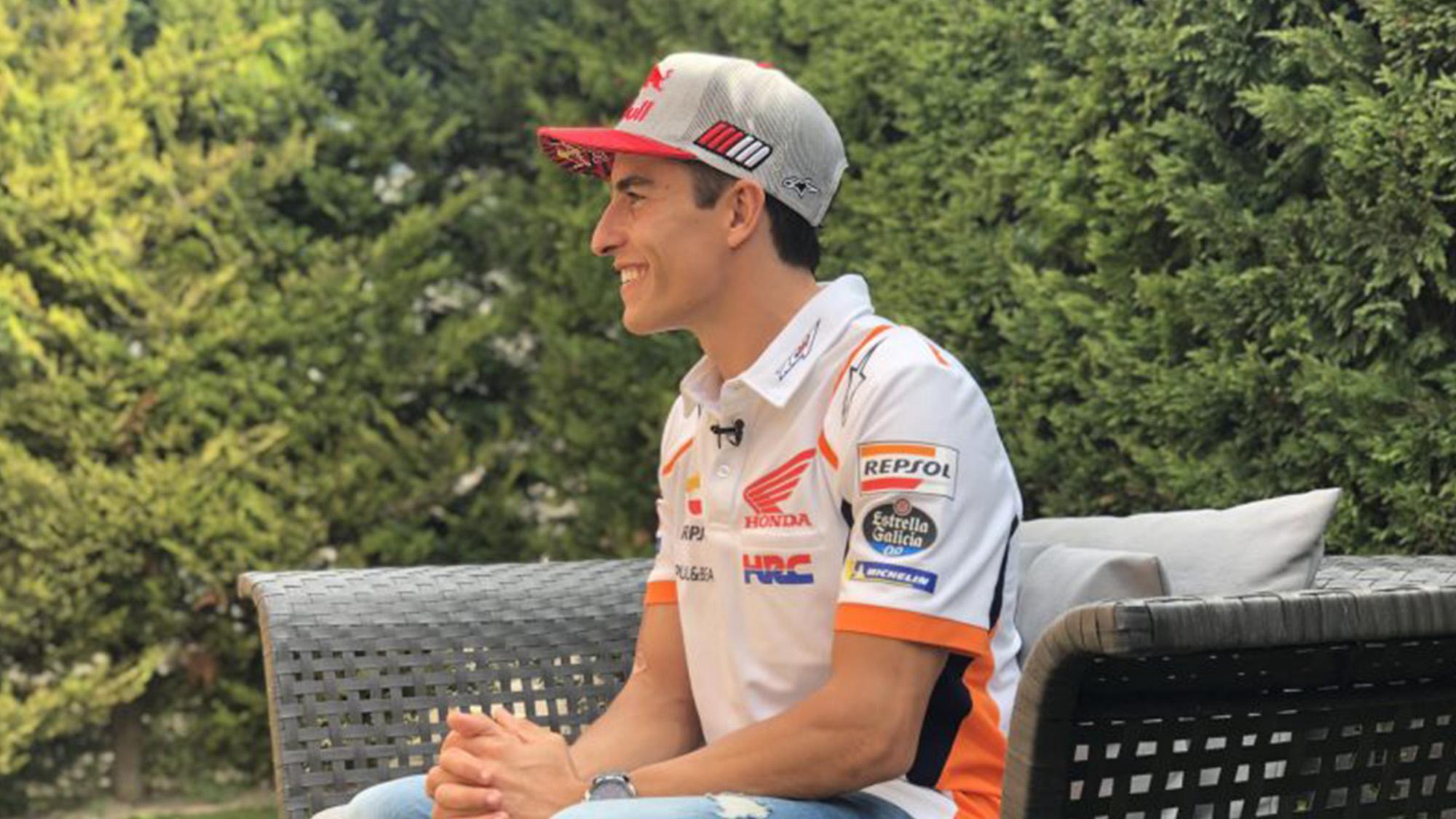 Marc Marquez September 2020 interview
