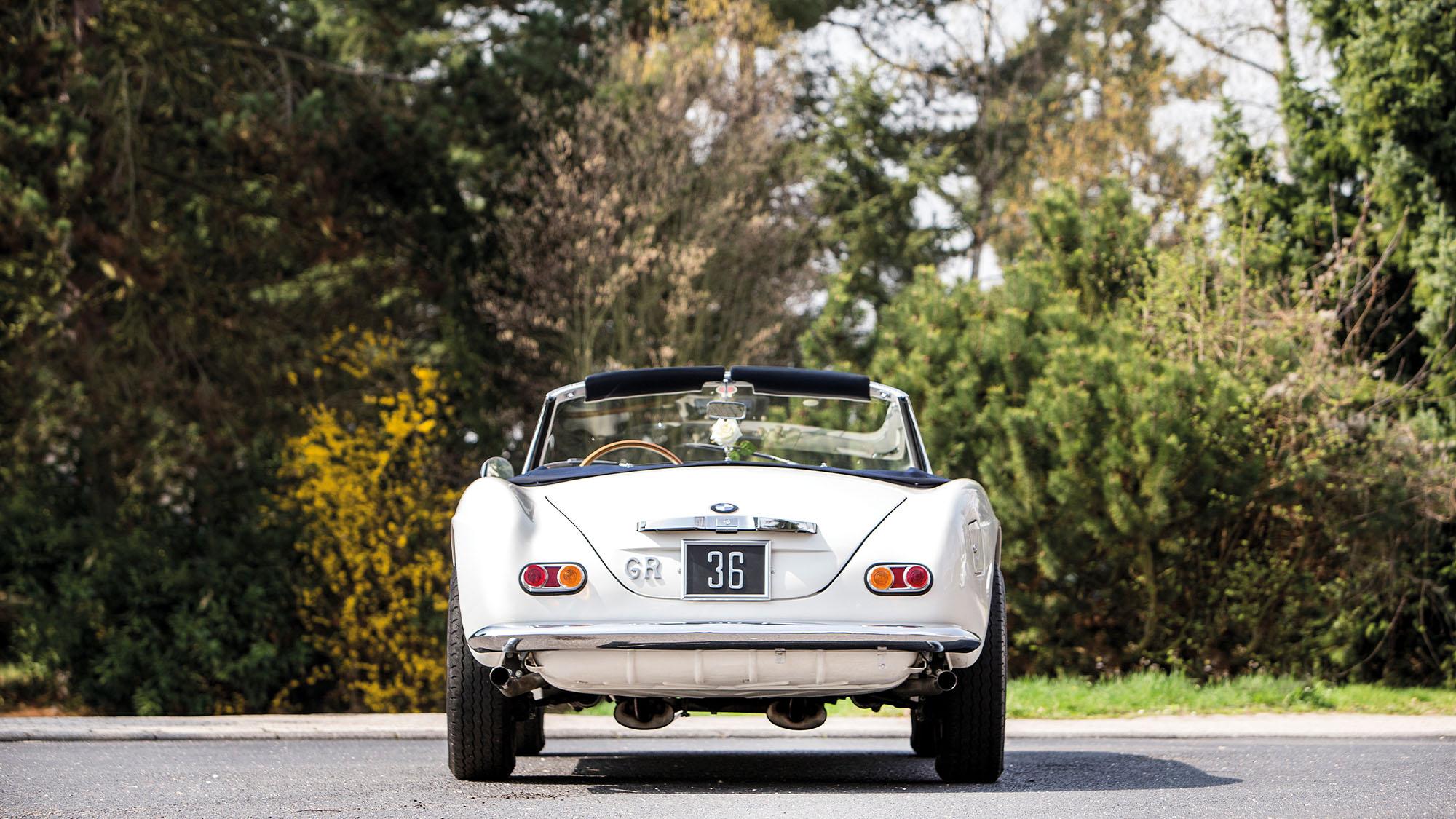 1959 BMW 507 Roadster rear