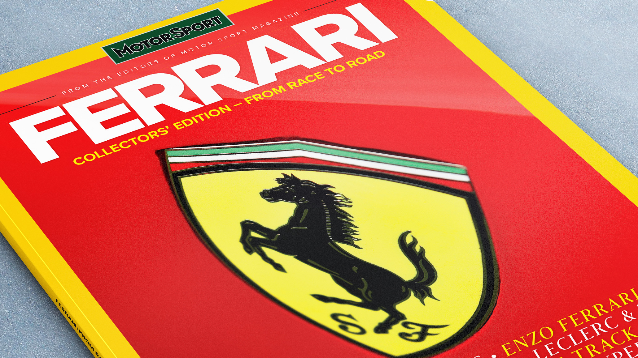 Ferrari gifts: art, books and memorabilia