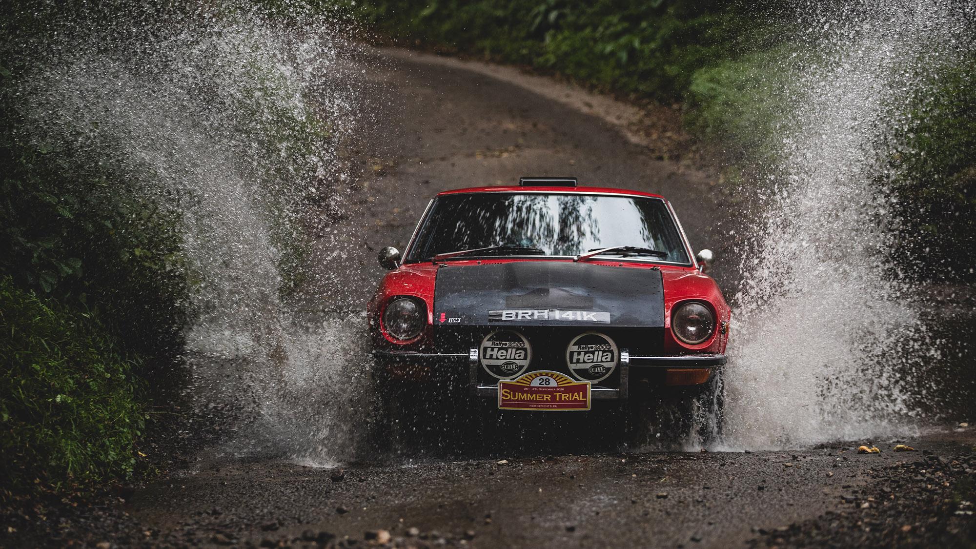 2020 HERO summer trial Datsun