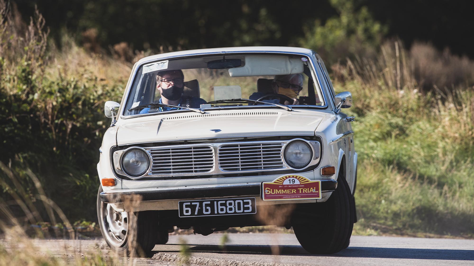 2020 HERO summer trial Volvo 144