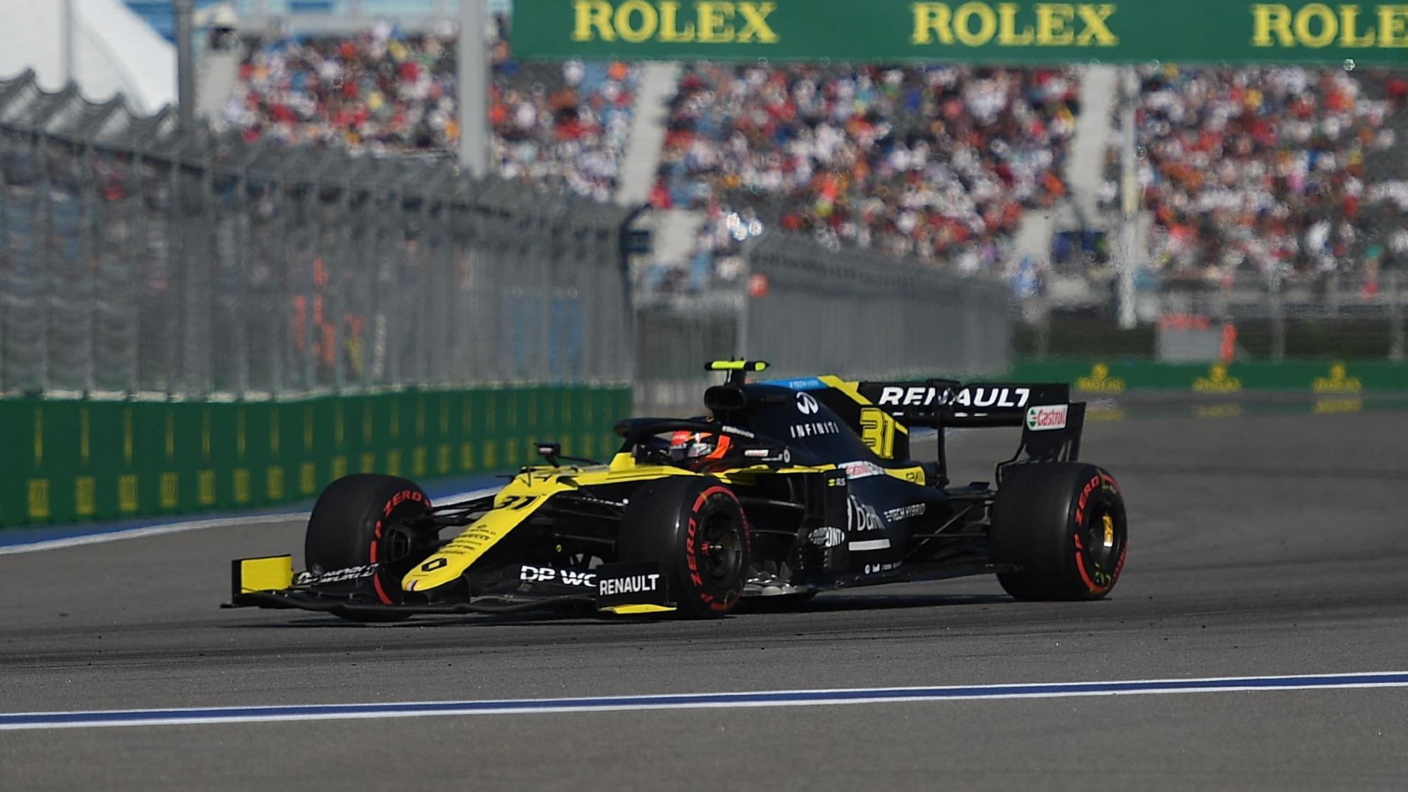 Esteban Ocon, 2020 Russian GP