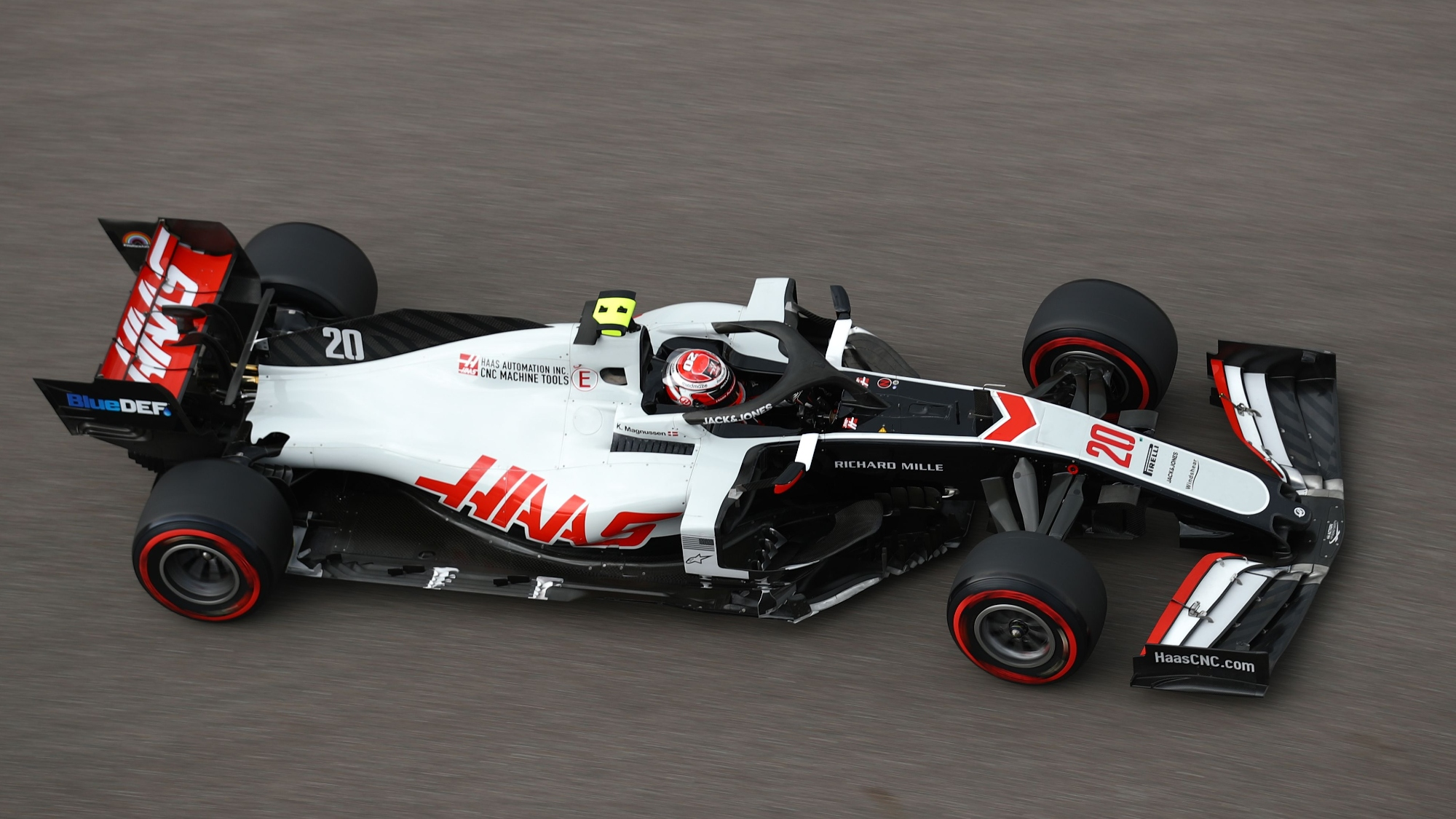 Kevin Magnussen, 2020 Russian GP