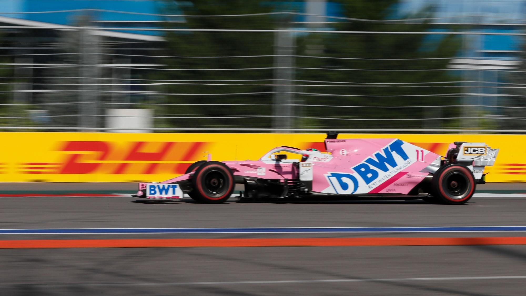 Sergio Perez, 2020 Russian GP