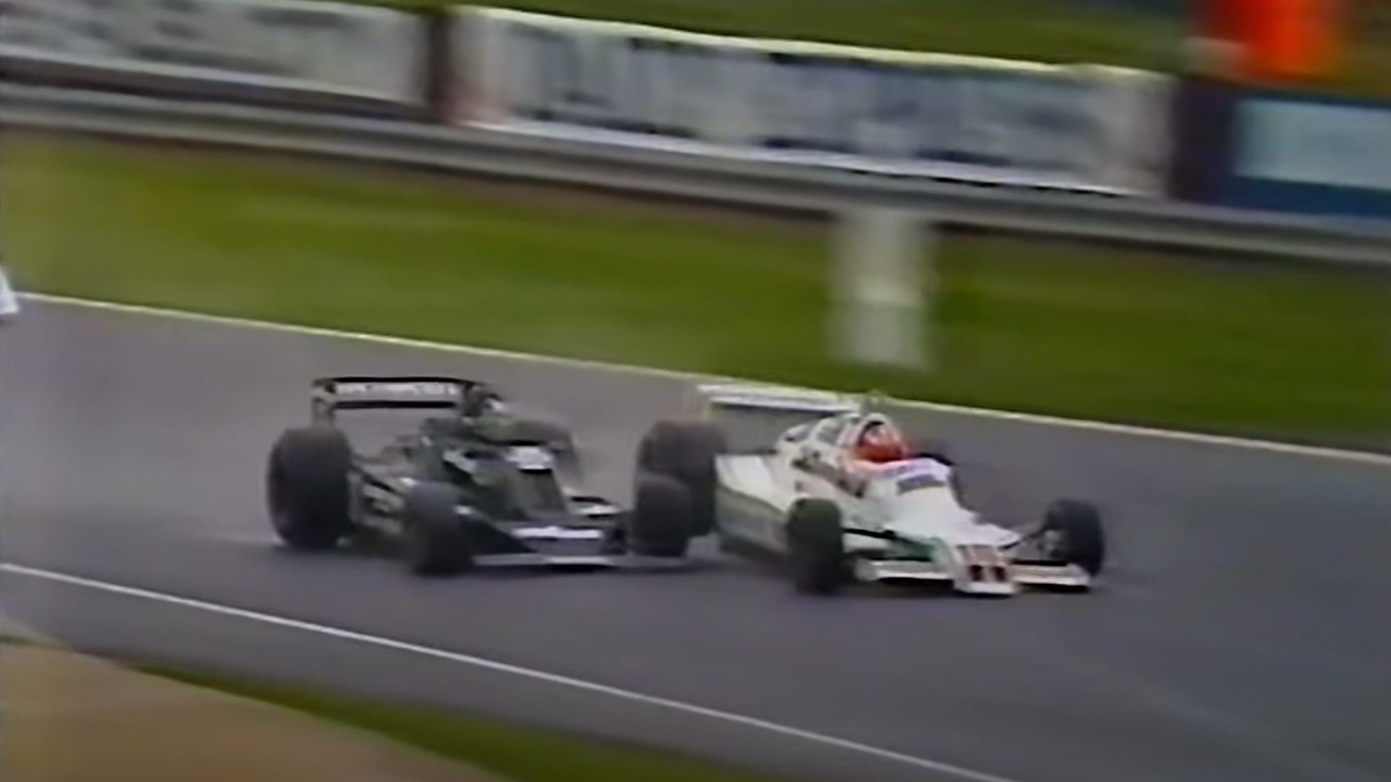 British F1 at its peak: Kennedy & Keegan's '79 Aurora AFX Silverstone showdown
