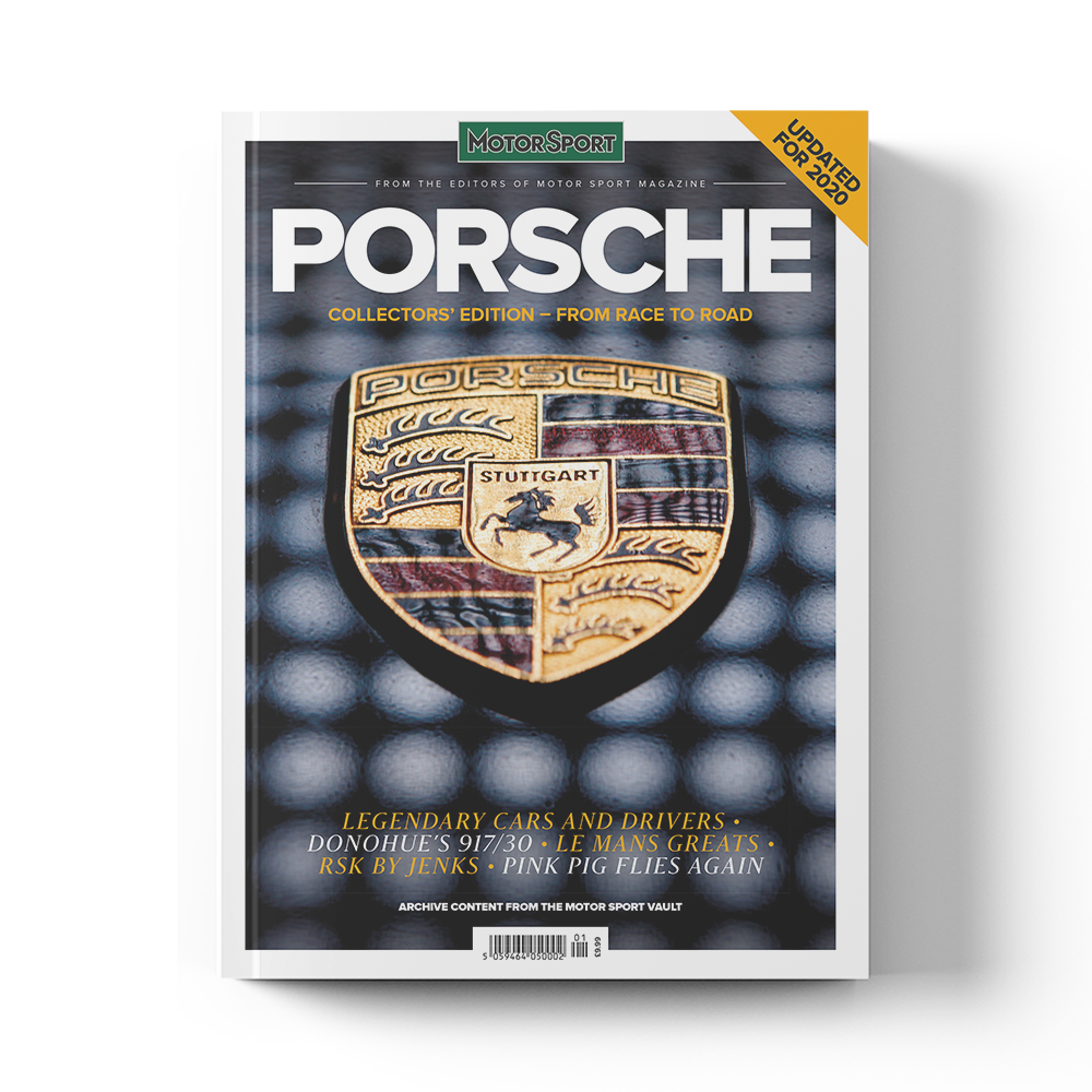 Product image for Porsche - From Race to Road | Motor Sport Magazine | Collector's Edition Bookazine