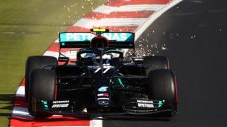 2020 F1 Eifel Grand Prix qualifying: Bottas turns up the heat at chilly Nürburgring
