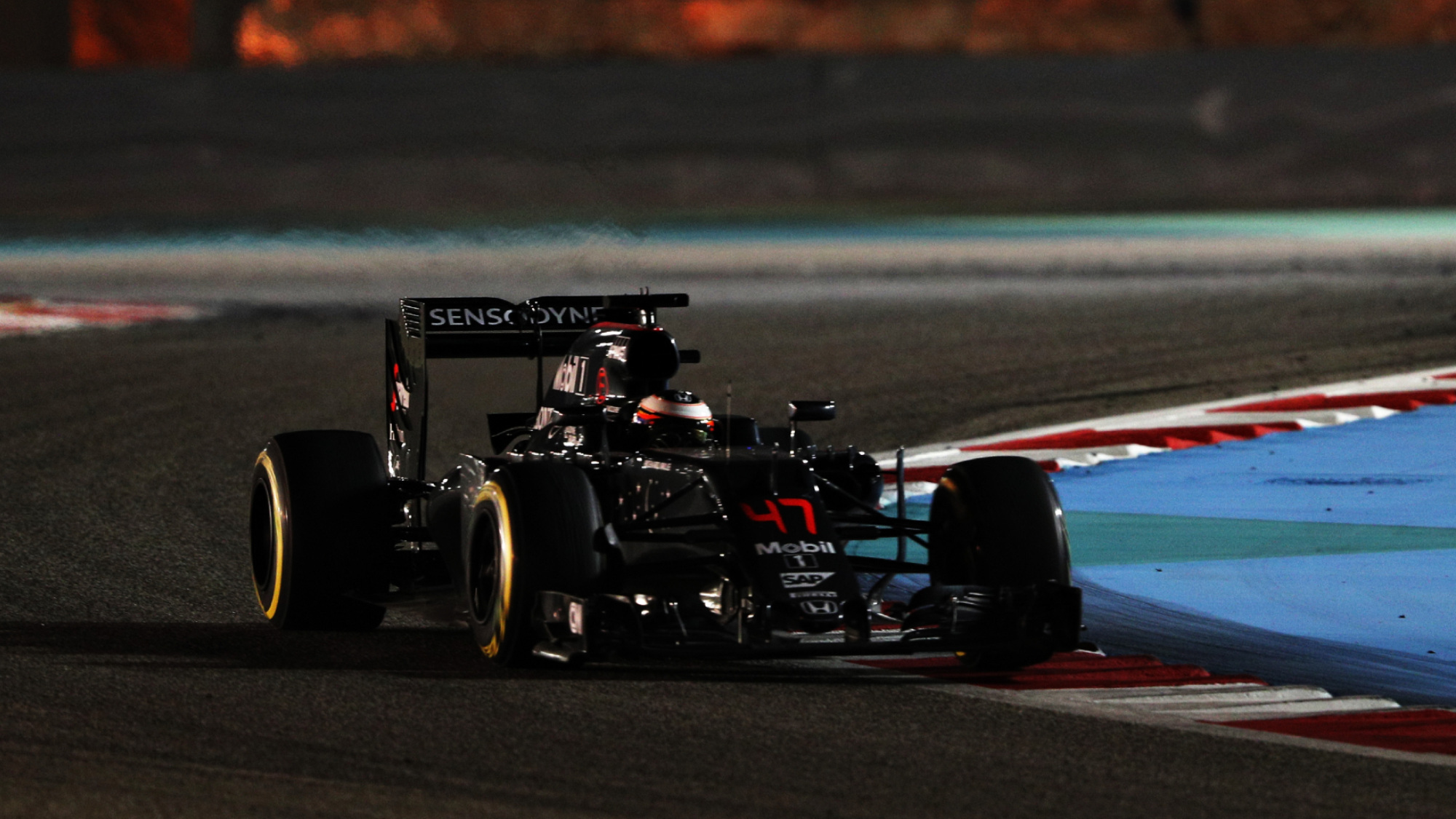 Stoffel Vandoorne, 2016 Bahrain GP