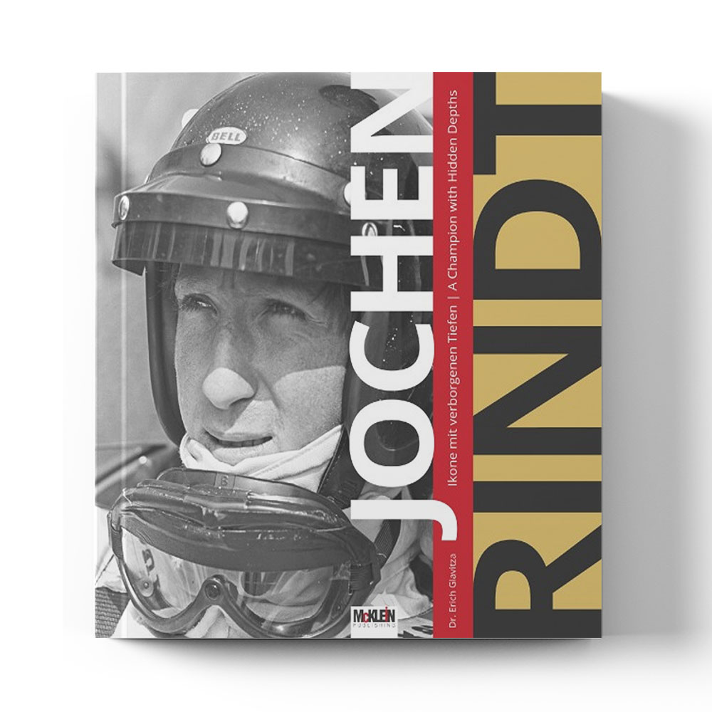 Product image for Jochen Rindt - A Champion With Hidden Depth | Dr. Erich Glavitza | Book | Hardback