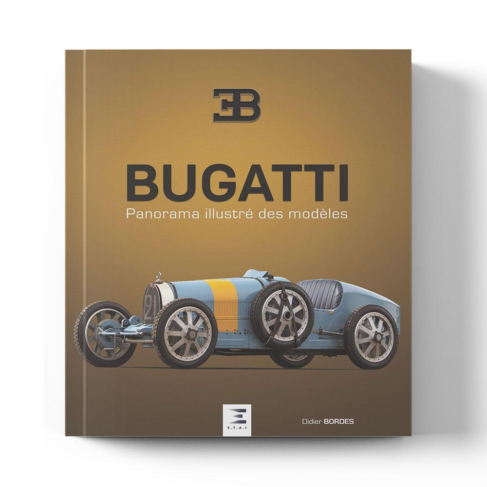 Product image for Bugatti Panorama Illustre Des Modeles   Didier Bordes   Book   Hardback