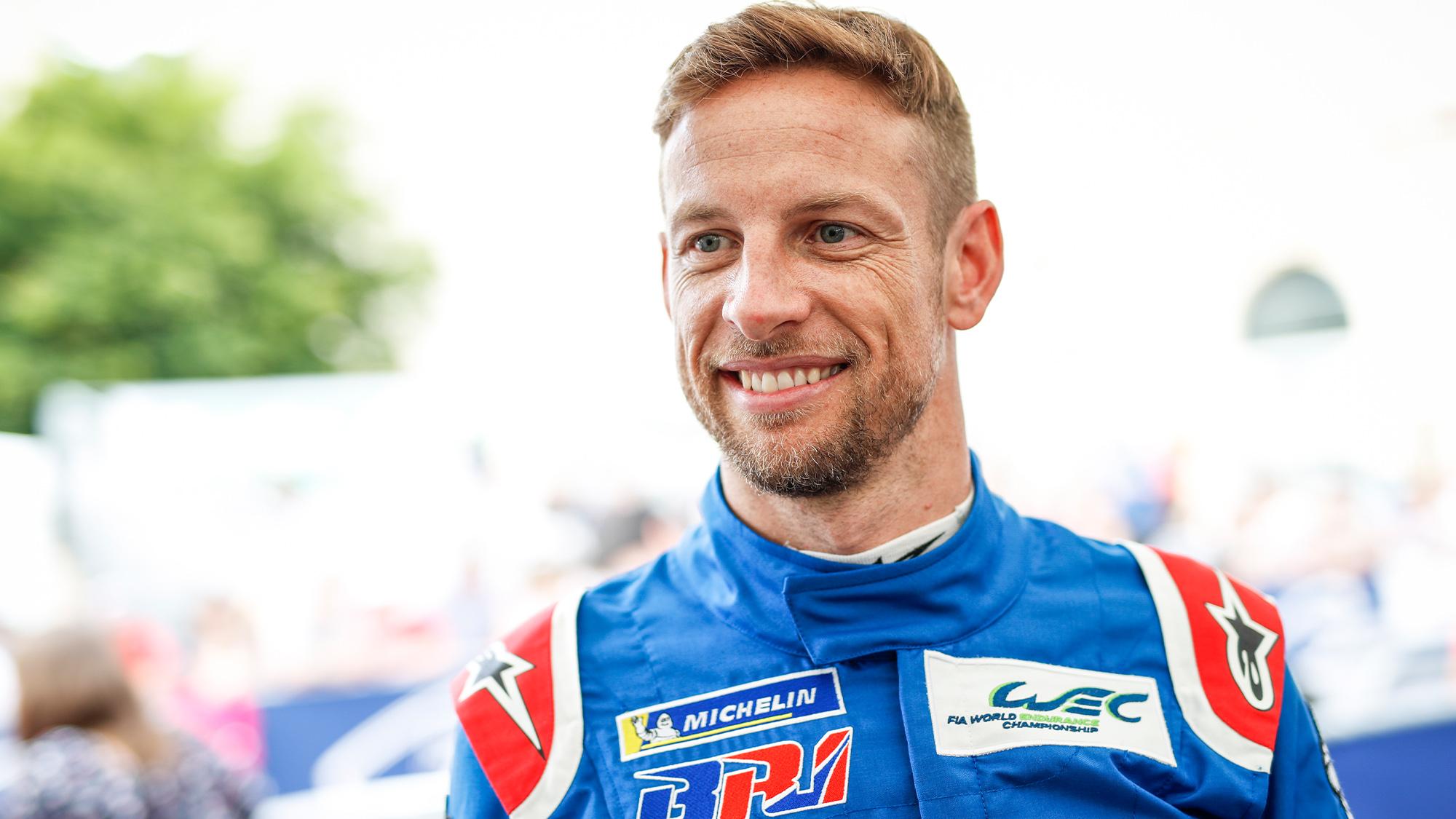 Jenson Button WEC