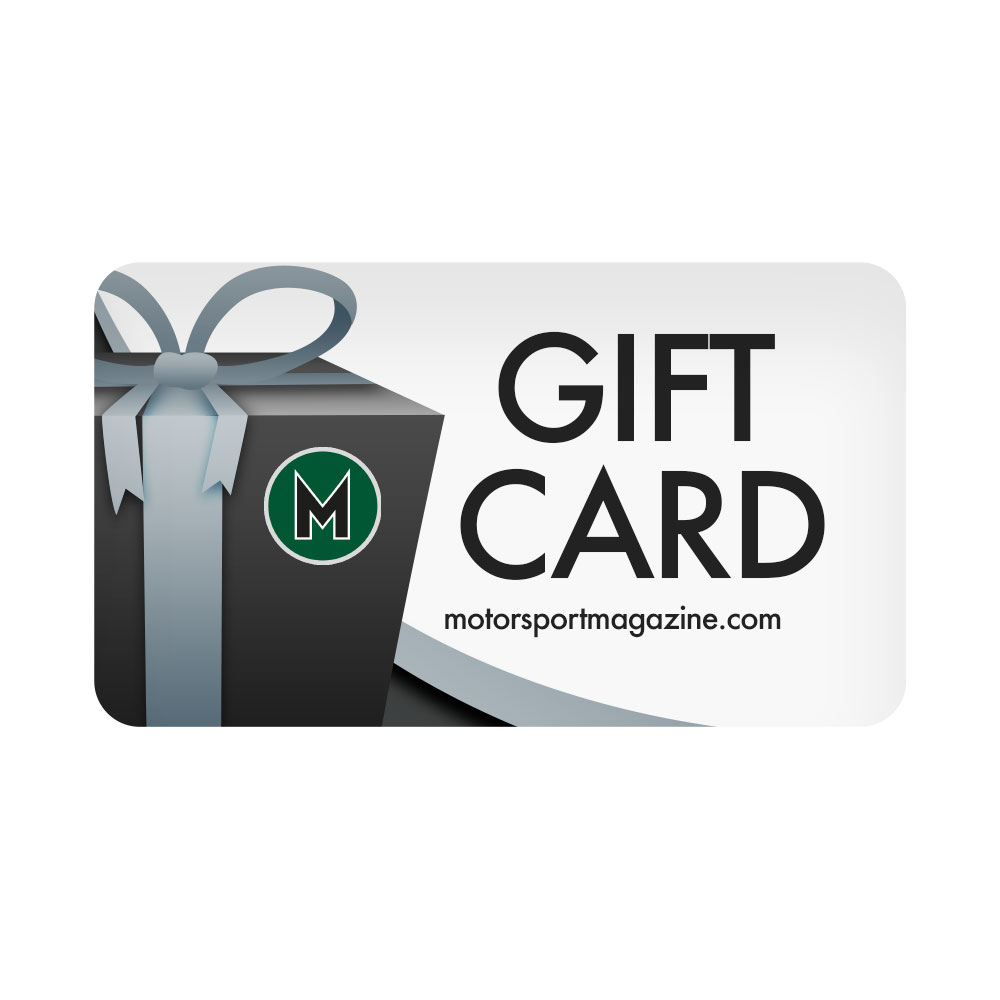 Product image for Motor Sport Gift Cards