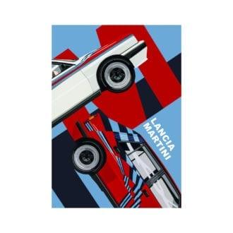 Product image for Lancia Martini   Joel Clark   poster-print