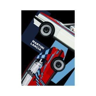 Product image for Martini Lancia   Joel Clark   poster-print