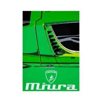 Product image for Lamborghini Miura   Joel Clark   poster-print