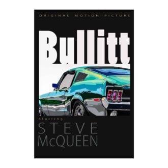 Product image for Bullitt Movie Poster   Joel Clark   poster-print