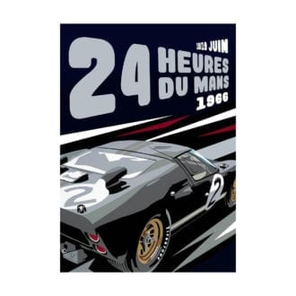 Product image for GT40 Le Mans '66   Joel Clark   poster-print