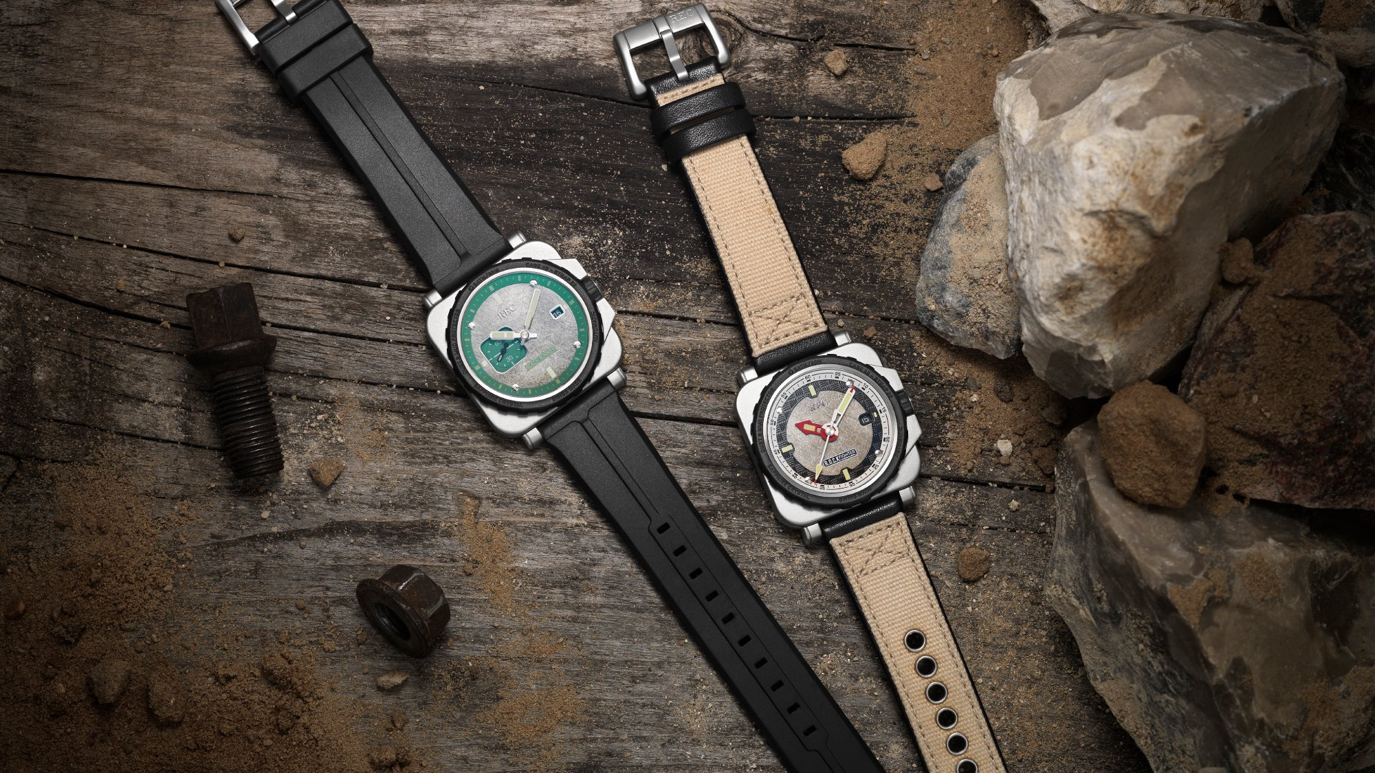 REC: watches that have already had a life of adventure