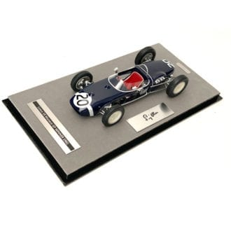Product image for Lotus 18   1961 Monaco win   signed Stirling Moss   1:18 model