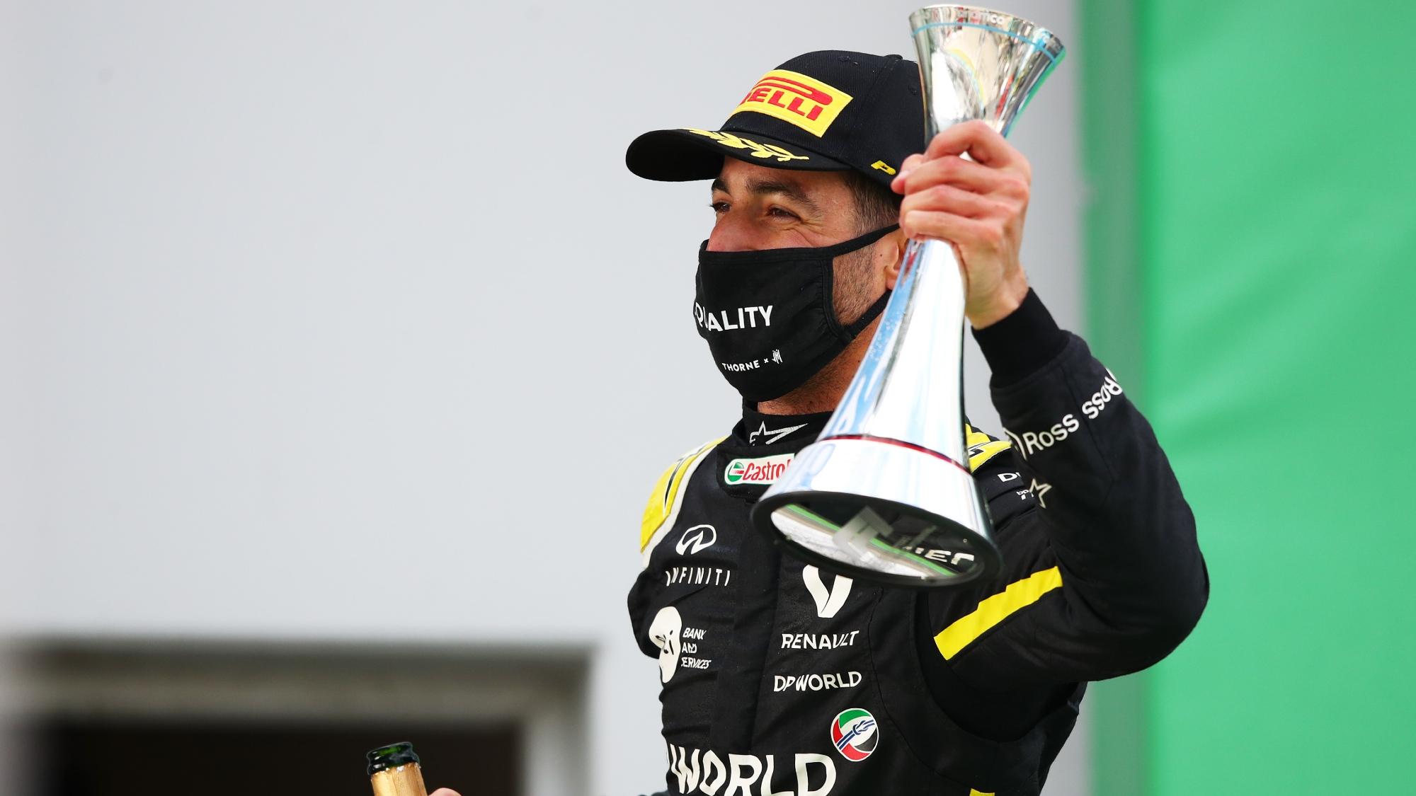 Daniel Ricciardo, 2020 Eifel GP