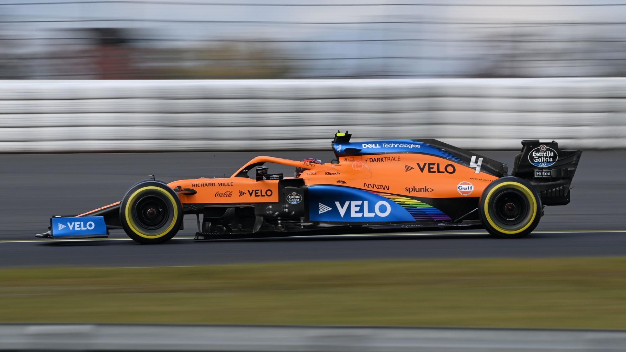 Lando Norris, 2020 Eifel GP