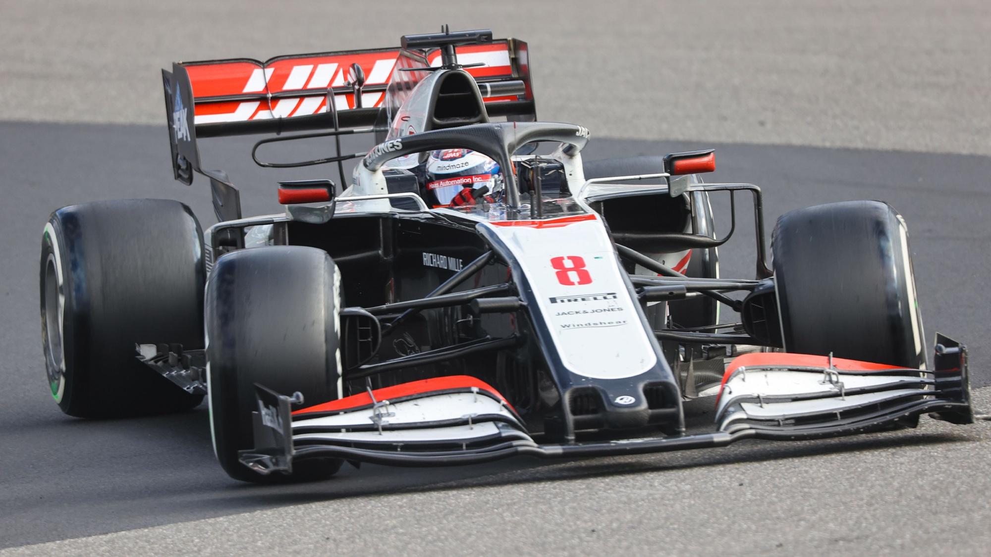 Romain Grosjean, 2020 Eifel GP