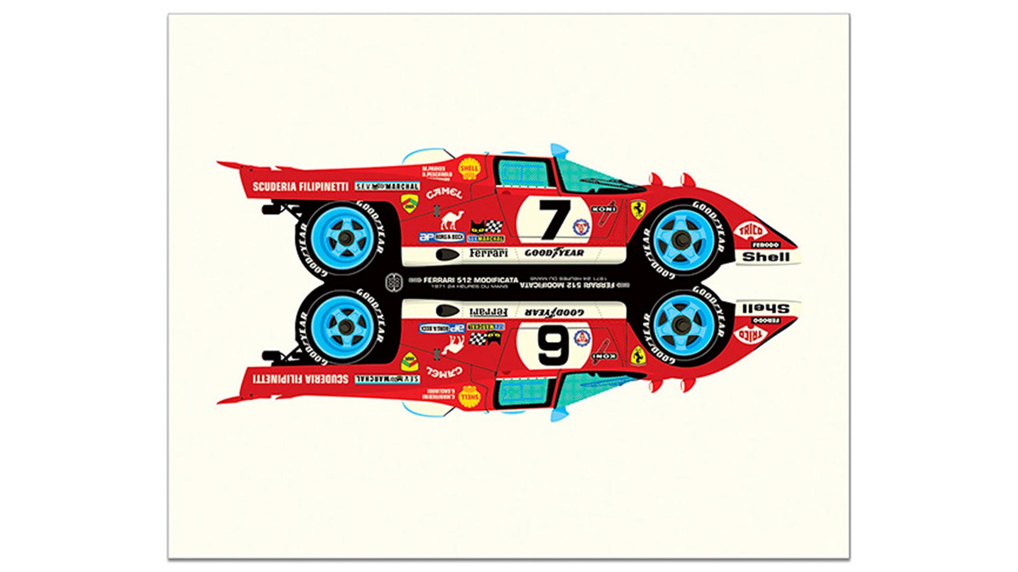 Ferrari Posters And Artwork