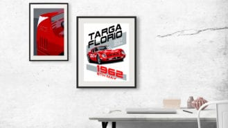 Ferrari posters: the best of new and classic designs