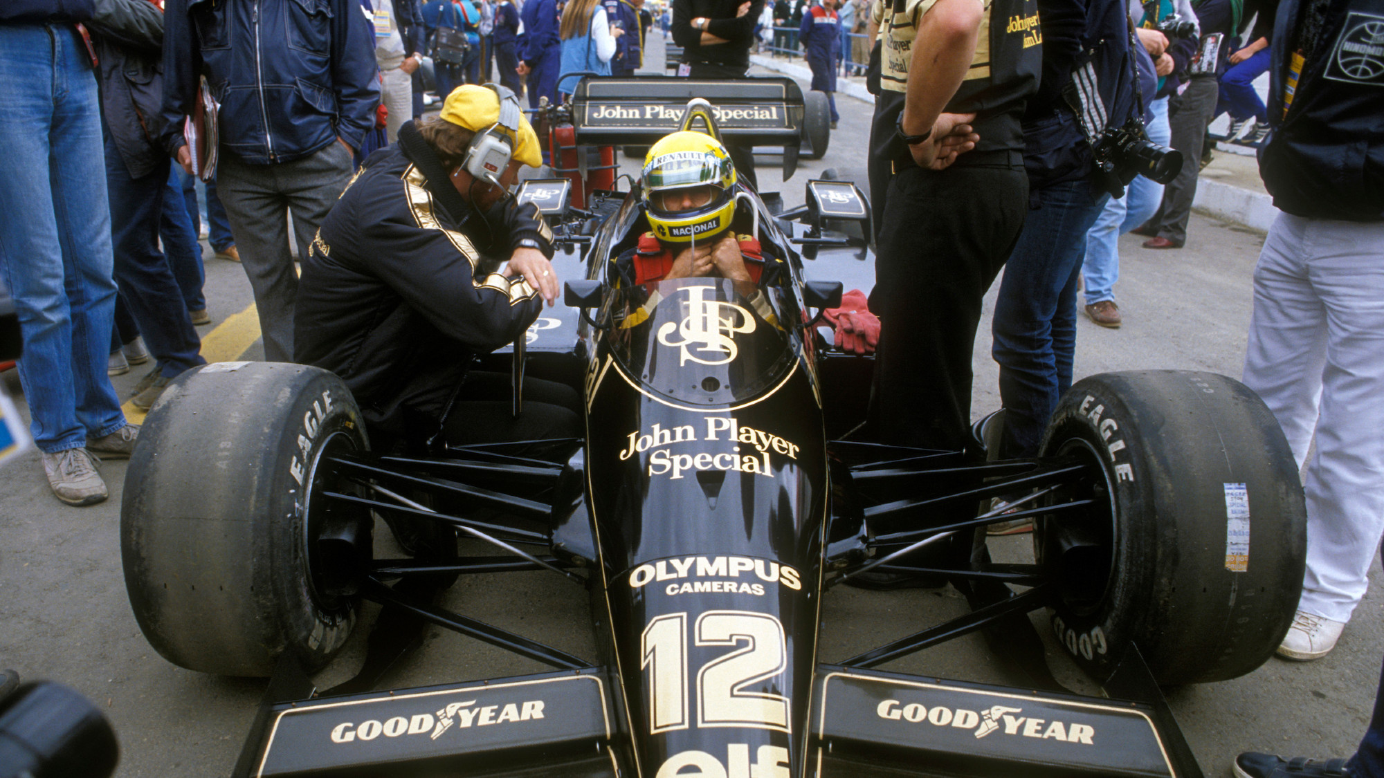 Ayrton Senna, Lotus, 1985 Portuguese Grand Prix
