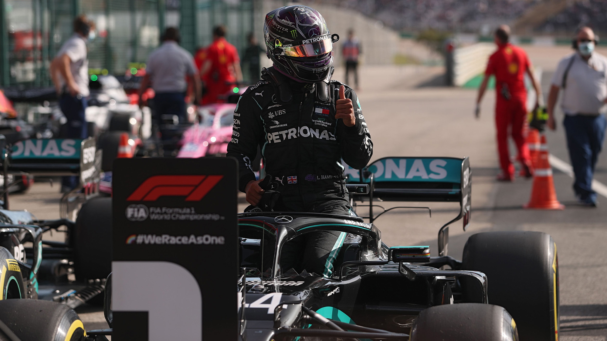2020 Portuguese Grand Prix qualifying: over-confident Bottas misses out on pole