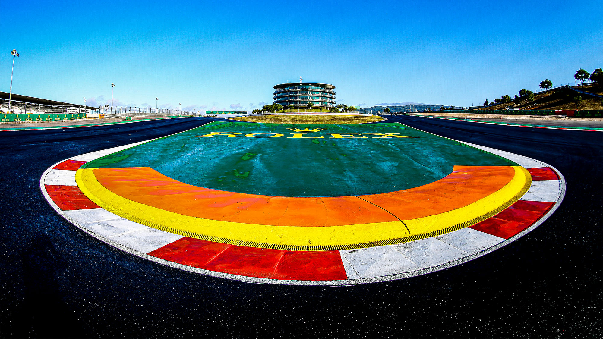 Hairpin at Portimao ahead of the 2020 F1 Portuguese Grand Prix