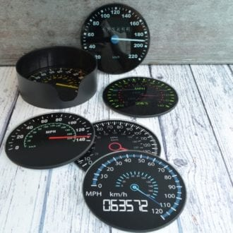 Product image for Speedometer | Home | Coasters