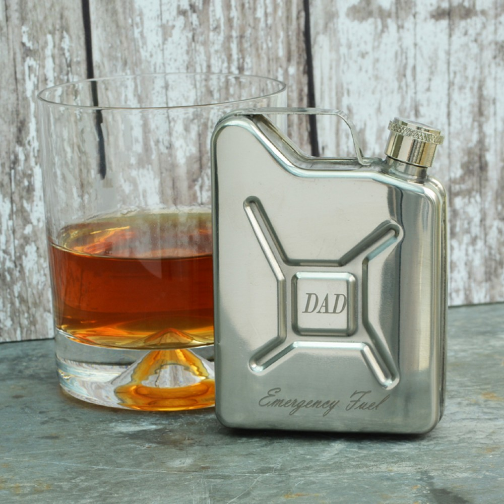 Product image for Petrol Can | Hip Flask | Personalised