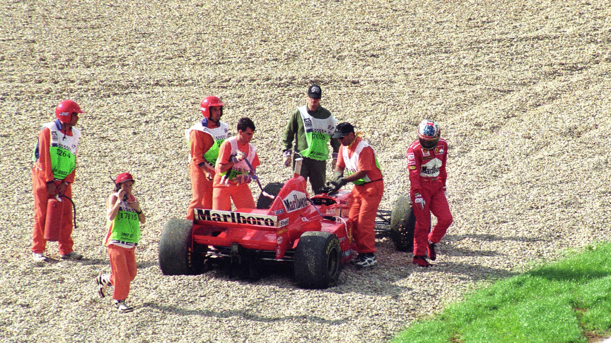 Michael Schumacher, 1997 European Grand Prix