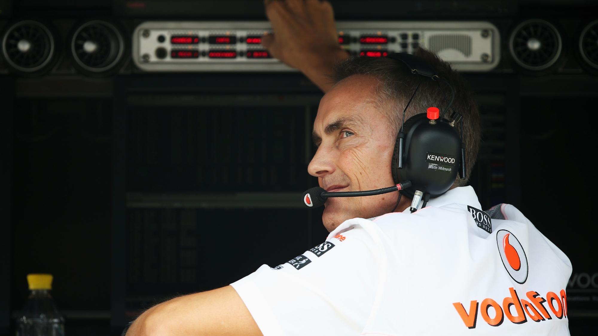 Martin Whitmarsh, McLaren 2013 Indian GP