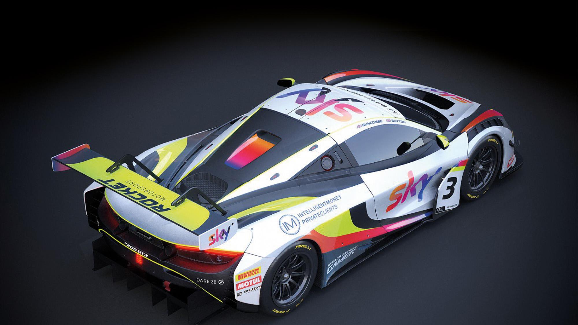 Jenson Button's McLaren 720S GT3