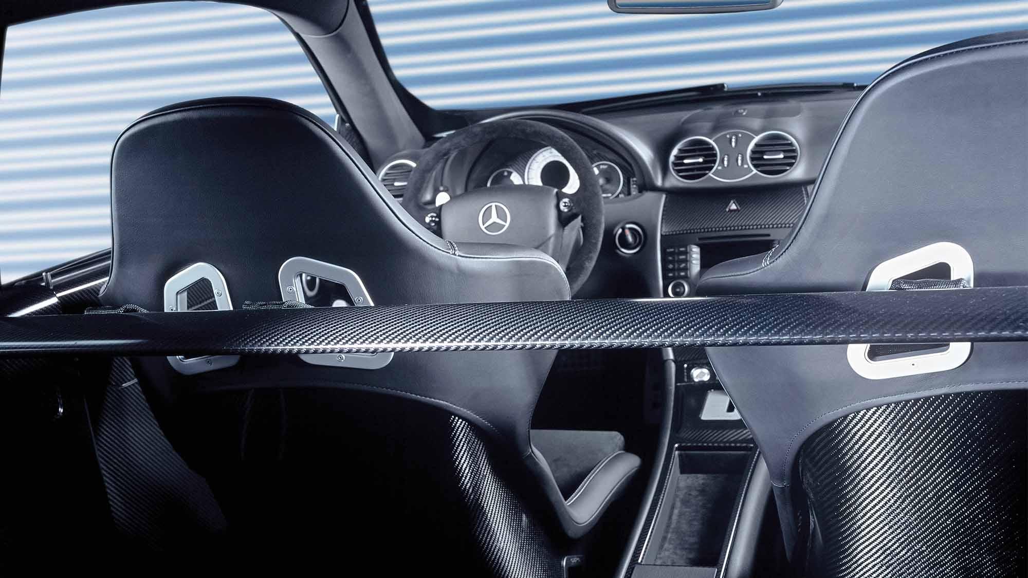 Mercedes CLK DTM AMG interior