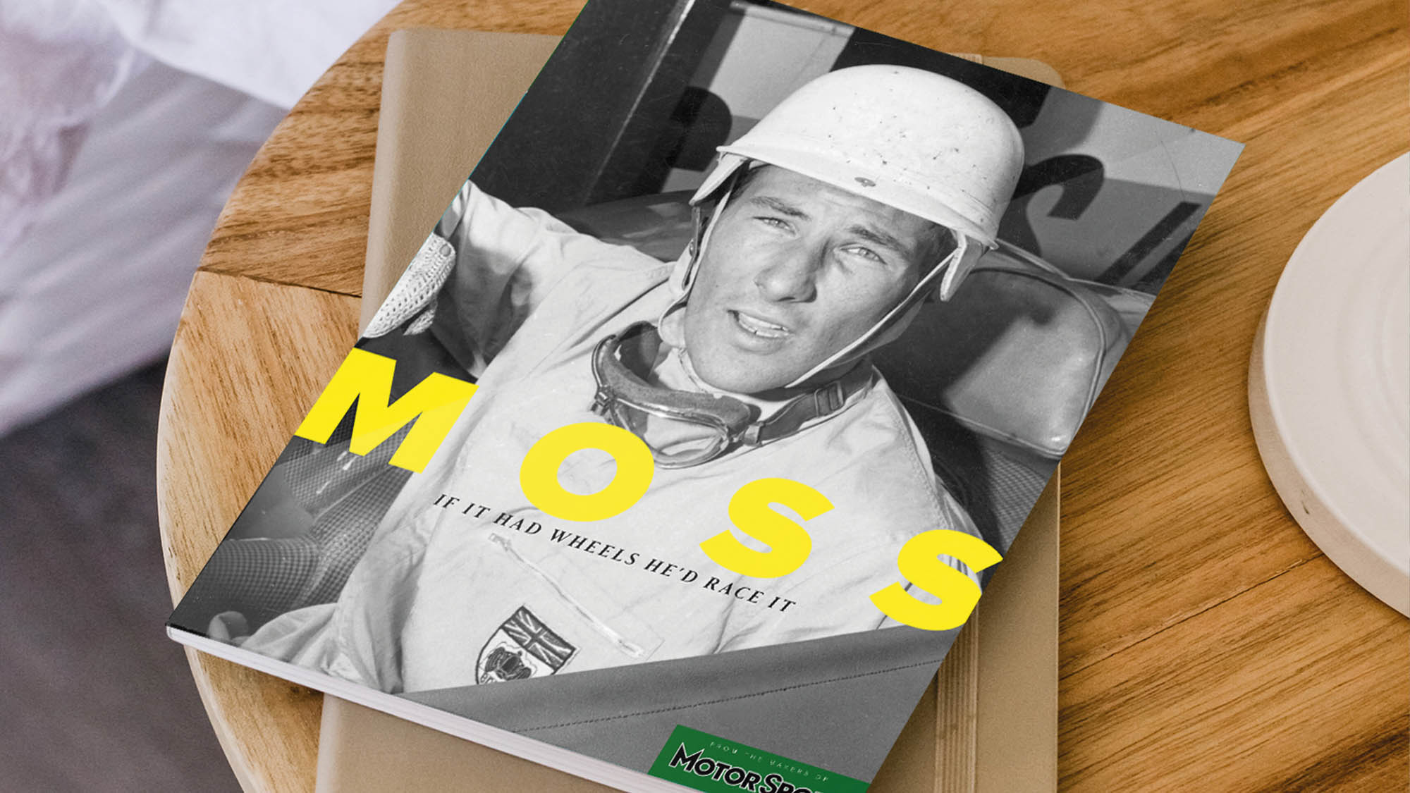 Stirling Moss: 'If It Had Wheels, He'd Race It'. Available now