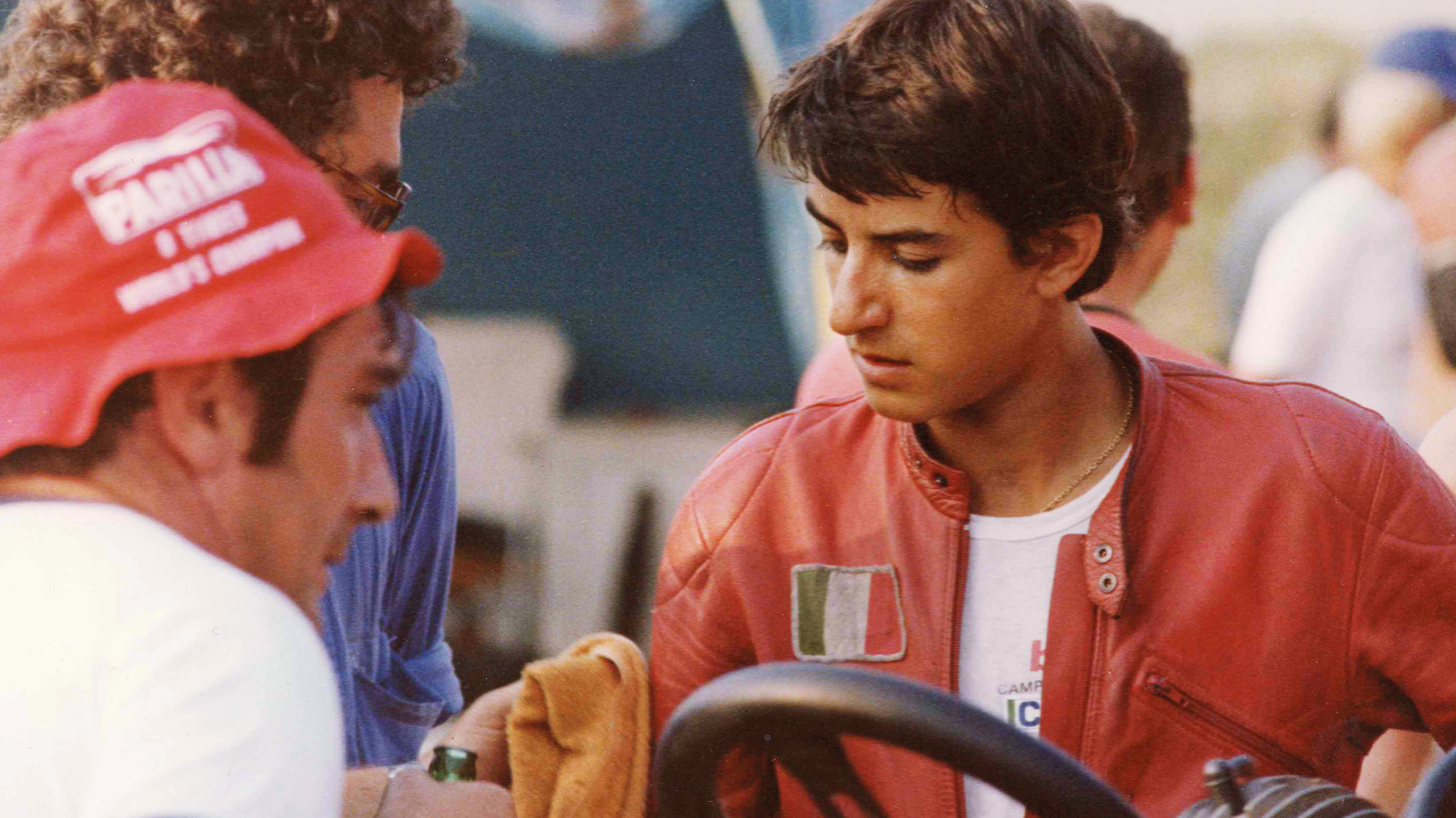 Ivan Capelli during his karting days