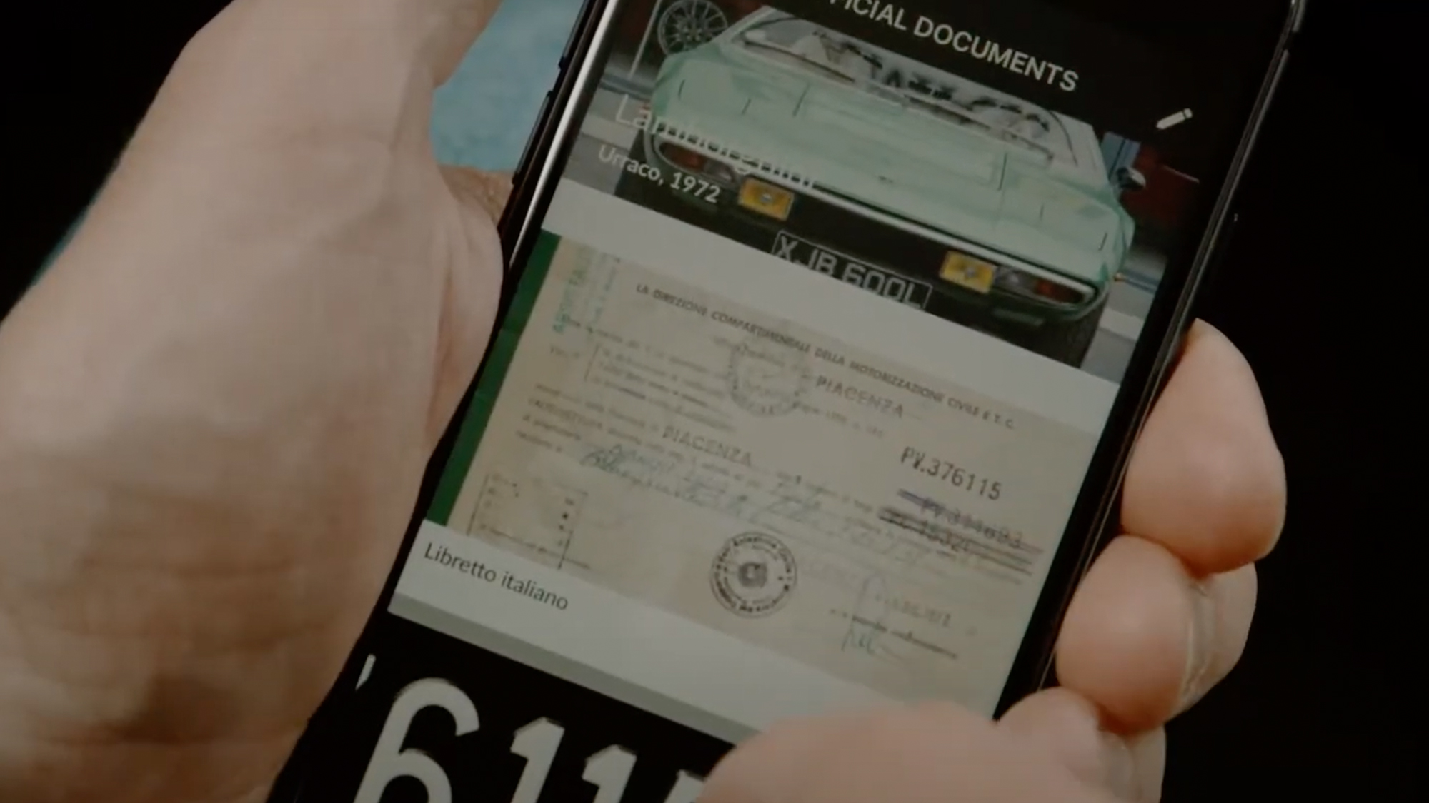 Digital storage for your classic car documents