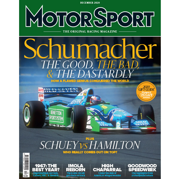 Product image for December 2020 | Schumacher: The Good, The Bad & The Dastardly | Motor Sport Magazine