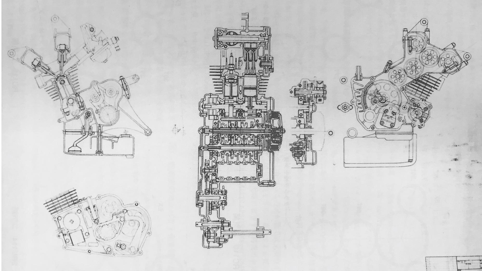 Honda 1965 engine
